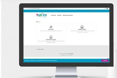 site-internet-Tud-bus-réseau-transport-urbain-douarnenez-finistère