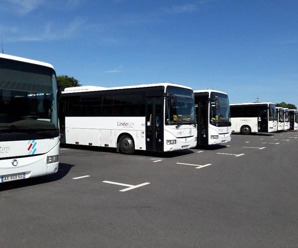 parking de bus