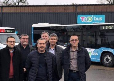 TudBus- urbex transport urbain bus hybride-douarnenez Finistère
