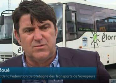 Alain Roué, Président du réseau Océlorn, Président de la fédération de Bretagne des Transports de Voyageurs FNTV